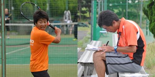テニスコーチ業務